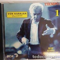 CDs de Música: CD VON KARAJAN - INEDITO - TIEMPO Nº 1 -. Lote 135437506