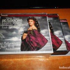 CDs de Música: DIE FLEDERMAUS JOHANN STRAUSS CAJA 2 CD + LIBRETO 1991 ALEMANIA KIRI TE KANAWA GRUBEROVA 2 CD BOX. Lote 135437670