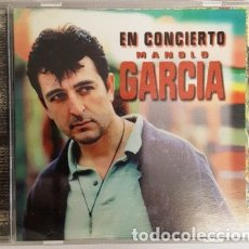 CDs de Música: MAGNIFICO CD - MANOLO GARCIA EN CONCIERTO -. Lote 135439378
