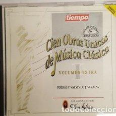 CDs de Música: CD CIEN OBRAS UNICAS DE MUSICA CLASICA - VOLUMEN EXTRA I -. Lote 135442906