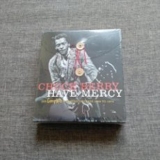 CDs de Música: BOX 4 CD - CHUCK BERRY - HAVE MERCY - 1969 TO 1974 - HIS COMPLETE CHESS - SEALED / PRECINTADA. Lote 135480070