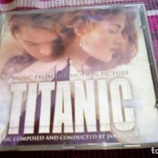 CDs de Música: TITANIC MUSIC FROM THE MOTION PICTURE CD JAMES HORNER. Lote 135489298