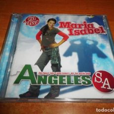 CDs de Música: MARIA ISABEL BANDA SONORA ANGELES S.A. CD + DVD AÑO 2007 12 TEMAS + VIDEOCLIP ALEJANDRO PARREÑO OT. Lote 135522938
