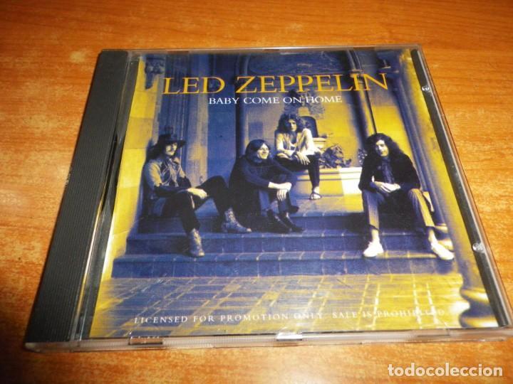 LED ZEPPELIN Baby come on home CD SINGLE PROMO 1993 ALEMANIA JIMMY PAGE ROBERT PLANT CONTIENE 1 TEMA, usado segunda mano