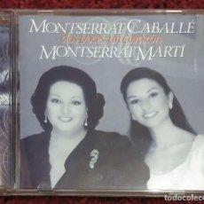 CDs de Música: MONTSERRAT CABALLÉ & MONTSERRAT MARTÍ (DOS VOCES UN CORAZÓN) CD 1995. Lote 135566106
