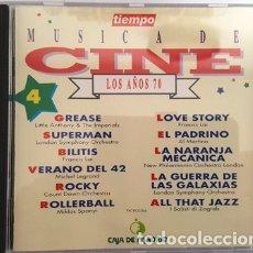 CDs de Música: ANTIGUO CD DE MUSICA DE CINE DE LOS AÑOS - 70 -. Lote 135584826