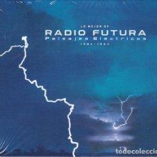 CDs de Música: RADIO FUTURA - LO MEJOR DE RADIO FUTURA: PAISAJES ELÉCTRICOS 1982-1992 - 2XCD + DVD. Lote 135595370