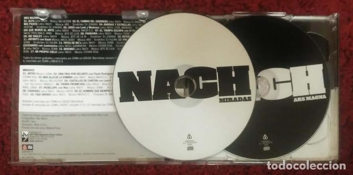 CDs de Música: NACH (ARS MAGNA - MIRADAS) 2 CD's 2005 - Foto 3 - 135600638