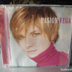 CDs de Música: CD ALBUM PASIÓN VEGA: BESOS Y BESOS, HABANERA DE LOS OJOS CERRADOS. 2001..PEPETO. Lote 135604142