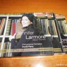 CDs de Música: JENNIFER LARMORE MEZZO-SOPRANO GREAT OPERATIC ARIAS CAJA CD + FOLLETO DAVID PARRY 12 TEMAS BOX SET. Lote 135605598