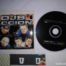 CDs de Música: CD PROMOCIONAL - SINGLE - CARTON - 10 TEMAS SINGLE FINLEY QUAYE. Lote 135626030