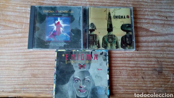 ENIGMA 3CDS (Música - CD's Heavy Metal)