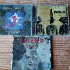 CDs de Música: ENIGMA 3CDS. Lote 135641821