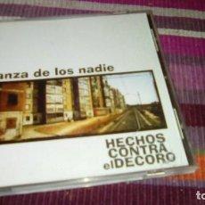 CDs de Música: HECHOS CONTRA EL DECORO DANZA DE LOS NADIE CD 1998. Lote 135644079