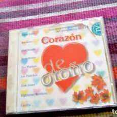 CDs de Música: CORAZÓN DE OTOÑO RTVE/UNIVERSAL 1999 18 TEMAS ELTON JOHN NINO BRAVO TOM JONES CECILIA LOS PANCHO. Lote 135677311