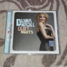 CDs de Música: DIANA KRALL, QUIET NIGHTS. Lote 135696927