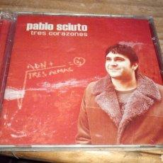 CDs de Música: PABLO SCIUTO TRES CORAZONES CD NUEVO SIN ABRIR. Lote 135715837