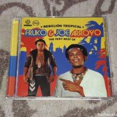 CDs de Música: FRUKO Y JOE ARROYO, THE VERY BEST OF FRUKO Y JOE ARROYO, 2CDS. Lote 135719798