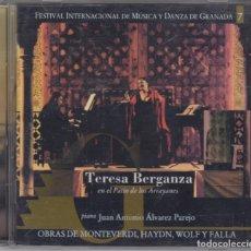 CDs de Música: TERESA BERGANZA CD FESTIVAL DE MÚSICA DE GRANADA 2005 RTVE FALLA HAYDN MONTEVERDI. Lote 135722371