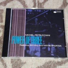 CDs de Música: MICHEL PETRUCCIANI, POWER OF THREE. Lote 135722503