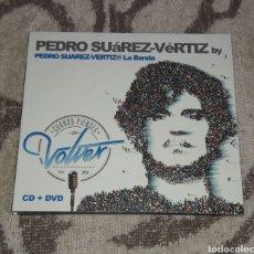 CDs de Música: PEDRO SUAREZ VERTIZ, CUANDO PIENSES EN VOLVER, CD+DVD. Lote 135724170
