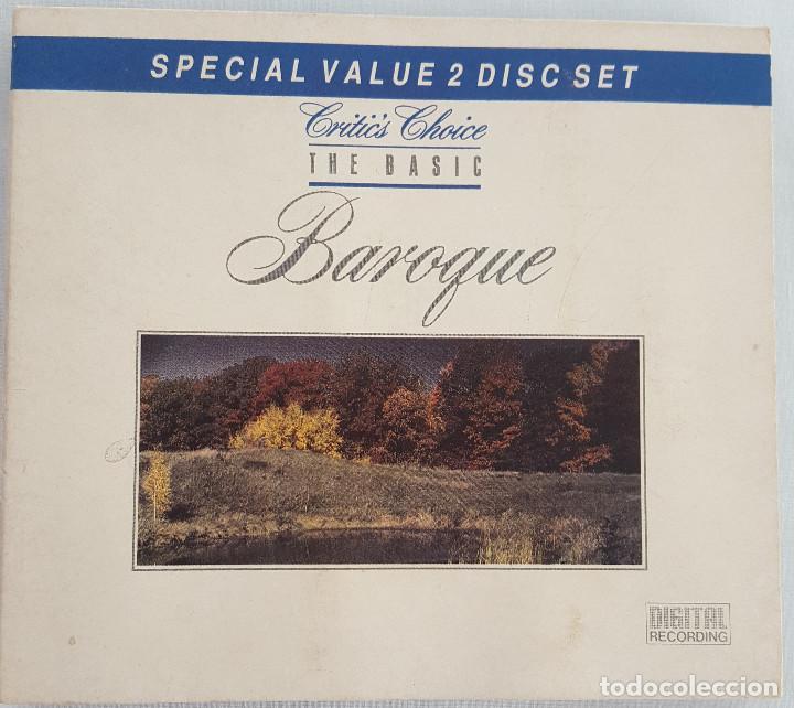 EXCELENTE. THE BASIC BAROQUE. 2 CD. ENGLISH PHILARMONIC ORCHESTRA. CRITICS CHOICE. THE BASIC (Música - CD's Clásica, Ópera, Zarzuela y Marchas)