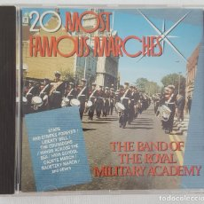 CDs de Música: 20 MOST FAMOUS MARCHES. THE BAND OF THE ROYAL MILITARY ACADEMY. Lote 135740571