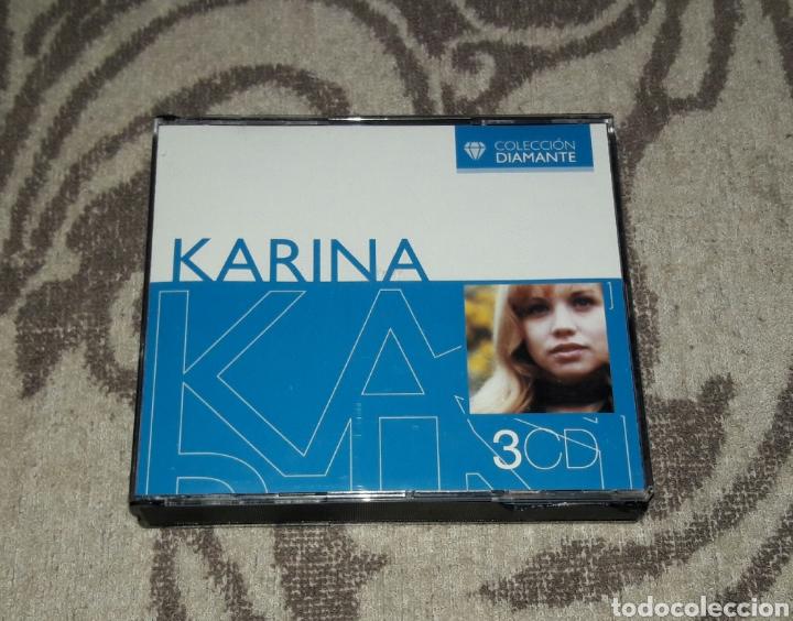 KARINA, COLECCION DIAMANTE, MIRAR FOTOS, 3CDS (Música - CD's World Music)