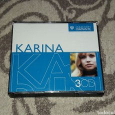 CDs de Música: KARINA, COLECCION DIAMANTE, MIRAR FOTOS, 3CDS. Lote 135740751