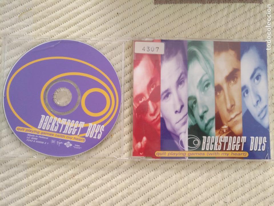 cd promocional - SINGLE - PLASTICO DURO - BACKSTREET BOYS CD single segunda mano