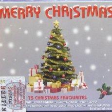 CDs de Música: MERRY CHRISTMAS - 75 CHRISTMAS FAVOURITES - 3XCD PRECINTADO - NAVIDAD VILLANCICOS. Lote 135778206