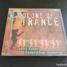CDs de Música: COLORS OF TRANCE - JAMES ASHER & MADELEINE DOHERTY - CD ALBUM - GEMA - 1999. Lote 135783134