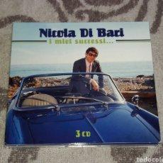 CDs de Música: NICOLA DI BARI, I MIEI SUCCESI, 3CDS. Lote 135805026