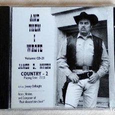 CDs de Música: JAMES E. MYERS - AND THEN I WROTE COUNTRY-2 - CD. . Lote 135808522