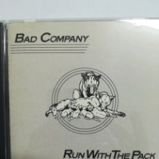 CDs de Música: BAD COMPANY. RUN WITH THE PACK. Lote 135812375