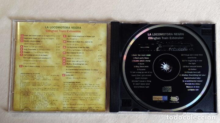 CDs de Música: LA LOCOMOTORA NEGRA - Ellington Train Extension - CD. PDI Barcelona. Año 1999 - Foto 2 - 135813586
