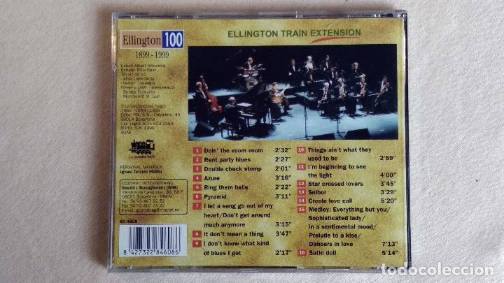 CDs de Música: LA LOCOMOTORA NEGRA - Ellington Train Extension - CD. PDI Barcelona. Año 1999 - Foto 3 - 135813586