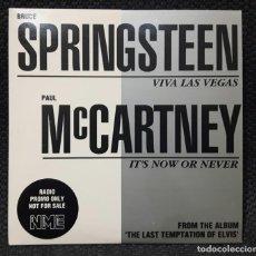 CDs de Música: PAUL MCCARTNEY - BEATLES - BRUCE SPRINGSTEEN - VIVA LAS VEGAS - CD - PROMOCIONAL - UK - MUY RARO. Lote 135826418