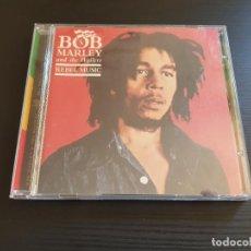 CDs de Música: BOB MARLEY & THE WAILERS - REBEL MUSIC - CD ALBUM - UNIVERSAL - 2002. Lote 135827854