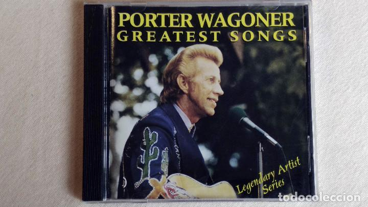 PORTER WAGONER - GREATEST SONGS-LEGENDARY ARTIST SERIES - CD. CURB RECORDS. AÑO 1995 (Música - CD's Country y Folk)