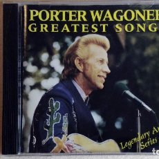 CDs de Música: PORTER WAGONER - GREATEST SONGS-LEGENDARY ARTIST SERIES - CD. CURB RECORDS. AÑO 1995. Lote 135836550