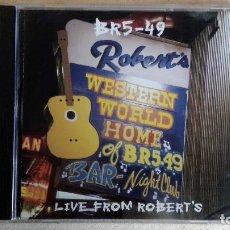 CDs de Música: BR5-49 - LIVE FROM ROBERT'S - CD. BMG ARISTA RECORDS. AÑO 1996. Lote 135838794