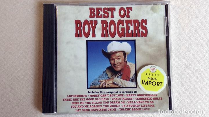 BEST OF ROY ROGERS - CD. CURB RECORDS. AÑO 1990 (Música - CD's Country y Folk)