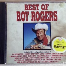 CDs de Música: BEST OF ROY ROGERS - CD. CURB RECORDS. AÑO 1990. Lote 135839474