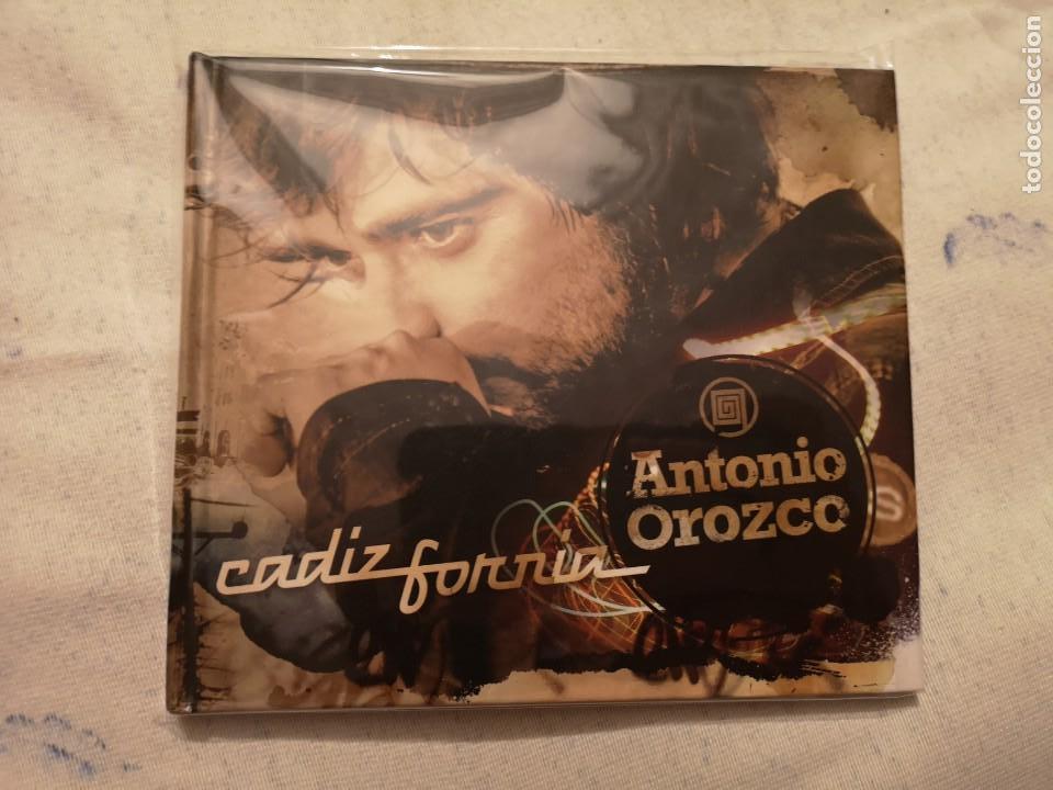 PEDIDO MÍNIMO 5€ LIBRO CD ANTONIO OROZCO CADIZFORNIA EDICIÓN ESPECIAL (Música - CD's Rock)