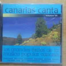 CDs de Música: CANARIAS CANTA VOLUMEN VII. Lote 135847709