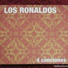 CDs de Música: LOS RONALDOS (4 CANCIONES) CD 2007. Lote 135850490