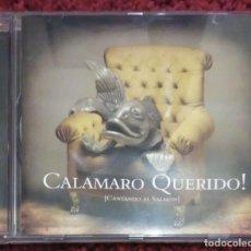 CDs de Música: CALAMARO QUERIDO! (CANTANDO AL SALMÓN) CD 2006 - SABINA, PEREZA.... Lote 135851002