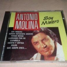 CD de Música: ANTONIO MOLINA - SOY MINERO.. Lote 135854422