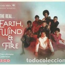 CDs de Música: EARTH, WIND & FIRE - THE REAL... EARTH, WIND & FIRE (THE ULTIMATE COLLECTION) (3XCD, COMP) LABEL:CO. Lote 135926342